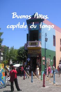 Buenos Aires, hlavní město tanga